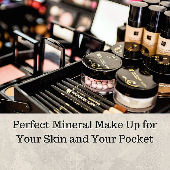 Perfect Mineral Make Up for Your Skin and Your Pocket