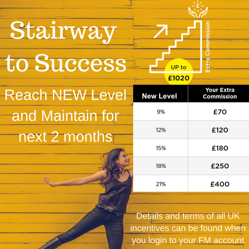 stairway to success fm incentive