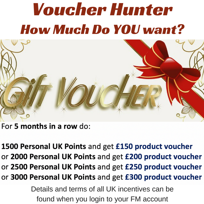 voucher hunter fm world uk
