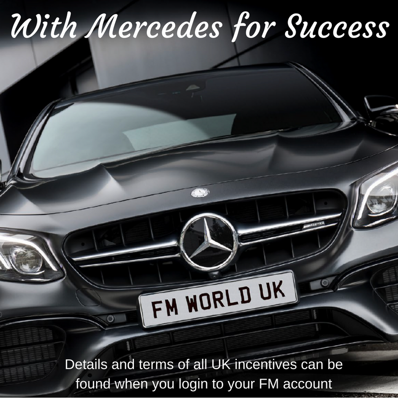 with mercedes for success