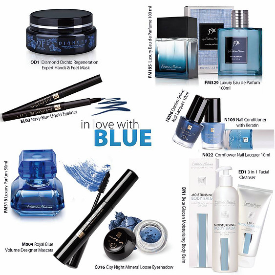 in love with blue