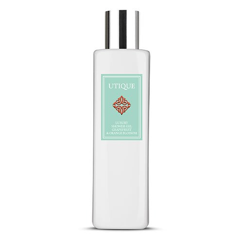 utique luxury shower gel grapefruit and orange blossom