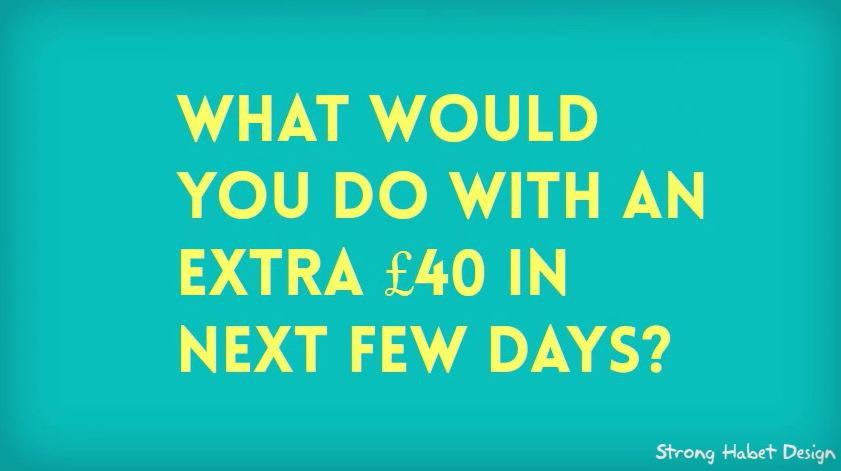 whatwouldyoudowithextra40picture