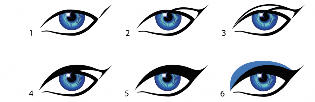 how to draw perfect eyeliner lines