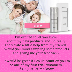let people know about complete care cream