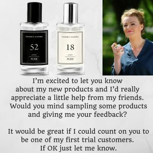 let you know about my new products