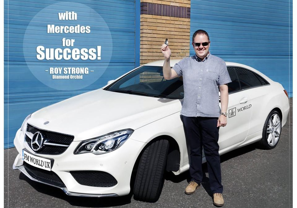 Roy Strong Achieves 3rd Mercedes