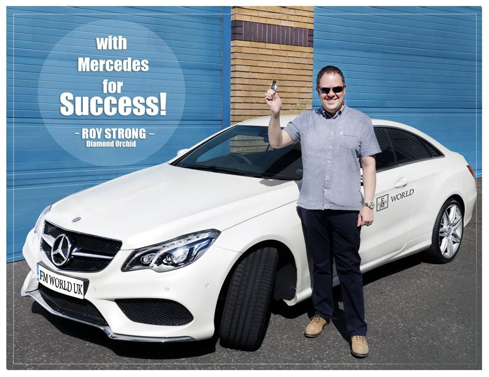 roy strong collecting third mercedes