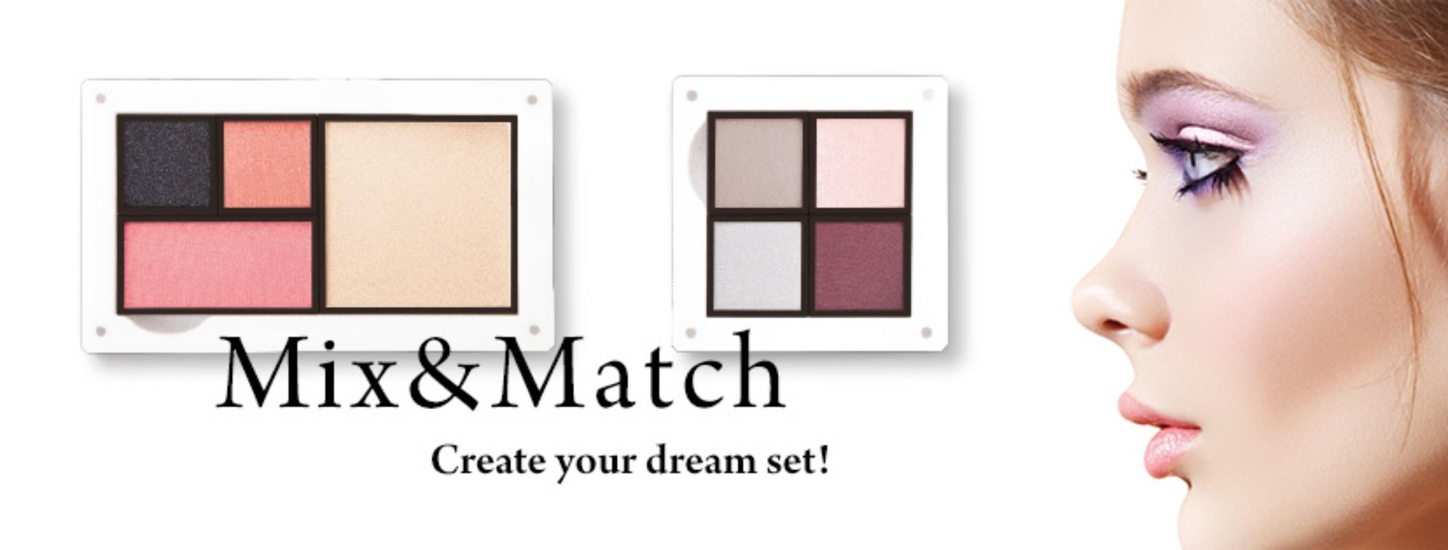 fm world mix and match make up palettes